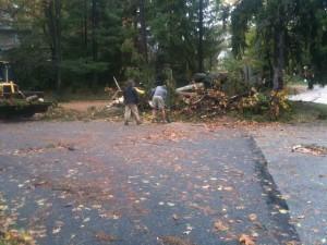 Hurricane Sandy Springfield Photo Essay 2:02 p.m. Oct. 30, 2012