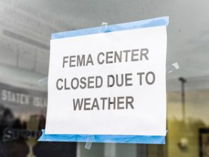 FEMA Closed Due To Weather