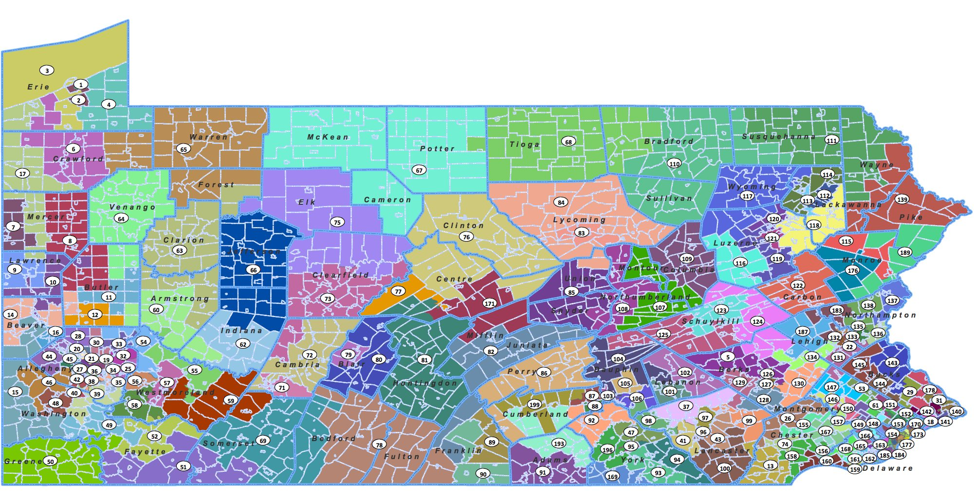 Pennsylvania Redistricting Takes Effect Dec 1