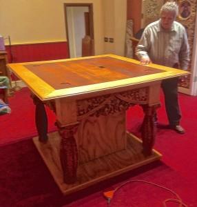 Holy Myrrh-Bearers Church Consecrated altar