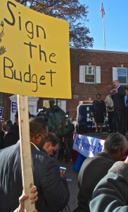 Wolf Delco Rally Dem Fiasco As Budget Becomes Issue