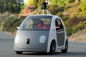 Cop Stops Driverless Car