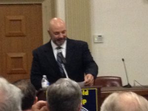 Clinton Secret Service Officer Addresses Springfield GOP