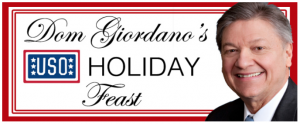 Dom Giordano USO Holiday Feast 2016