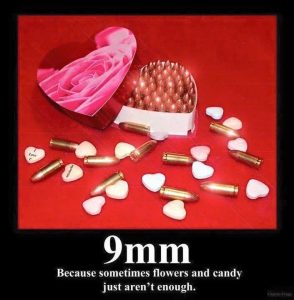 9mm Valentine's Day For Those Who Really Care